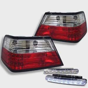 Eautolight Mercedes Benz E Class W124 Red Clear Rear Tail Light Lamps