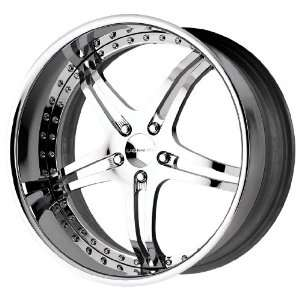 Liquid Metal Jak Series Chrome Wheel (22x11/5x120mm