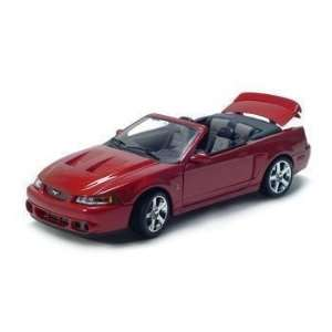 2003 FORD MUSTANG SVT COBRA 1/18 DIECAST MODEL Everything