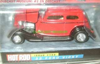 1933 33 FORD VICKY HOT ROD MAGAZINE DIECAST VERY RARE