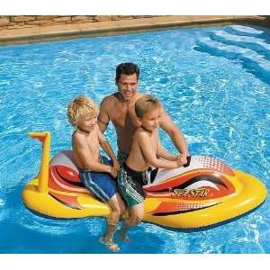 Inflatable Dragon Ride On Swimming Pool Toy Toys & Games