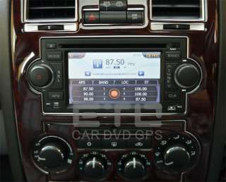 Grand Cherokee Patriot In Car Stereo GPS Navigation Radio DVD