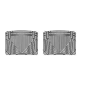 Rear All Weather Floor Mats for 2009 Toyota Venza (Grey) Automotive