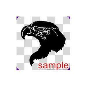 BIRD 27 10 WHITE VINYL DECAL STICKER