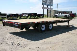 102 Bumper Pull Deckover Flatbed Equipment / Tractor Trailer