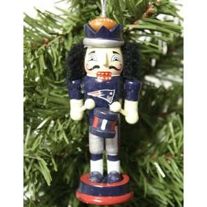 New England Patriots 2011 Nutcracker Christmas Ornament