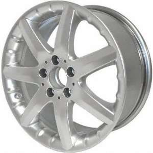 02 03 MERCEDES BENZ C32 c 32 ALLOY WHEEL (PASSENGER SIDE