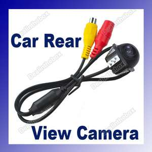 E318 170º Wide Angle Night Vision Car Rear View Reverse Backup Color