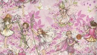 group is full of pinks, mauves, and graceful and beautiful fairies
