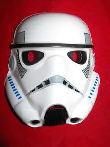 STAR WARS IMPERIAL STORMTROOPER HALLOWEEN MASK PVC NEW