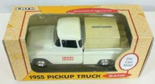 1992 ERTL 1955 Chevrolet Pickup Truck Bank Die Cast