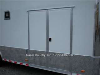 CARGO STACKER TRAILER RACE CARHAULER   LOADED   MUST SEE