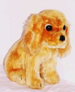 Old Steiff Soft Gold Mohair Cocker Spaniel Dog Susi