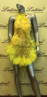 LATIN SALSA(BALLROOM) COMPETITION DRESS SIZE S (LS51A)