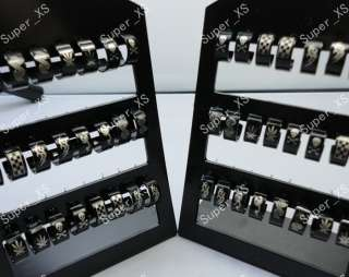 Wholesale jewelry mixed lots 36pairs stainless steel earrings New free
