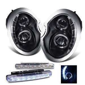 Eautolight 02 06 Mini Cooper LED Projector Head Lights+led