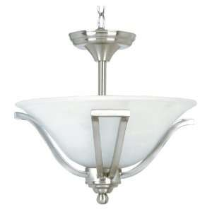 Redwood Transitional Three Light Down Lighting Semi Flush Ceiling fix
