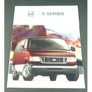 2005 05 Ford E SERIES VAN BROCHURE E150 E250 E350 E450