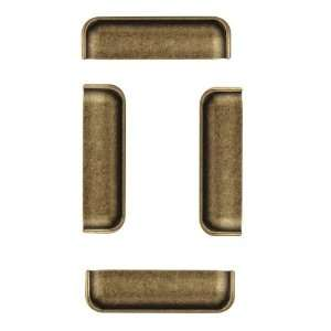 .09 Classic Series Drawer Pull, Antique Brass Dark, 4.25 by 1.18 Inch