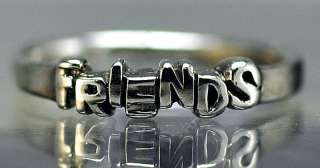 New Friends Sterling silver Best Forever ring Jewelry