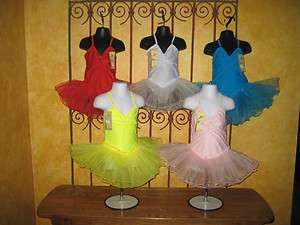 NEW Girls Toddler Leotard Tutu Ballet Dress Costume Dress Up Beautiful