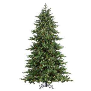 Sterling Inc. 7.5 ft. Pre Lit Natural Cut Layered Green River Spruce