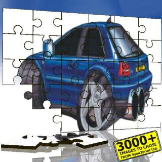KOOLART 0340 Audi A3 Personalised Wooden Jigsaw Puzzle