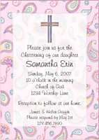 Personalized CHRISTIAN CROSS Thank You Note Cards
