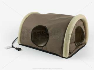 CAT/PET KITTY CAMPER OUTDOOR INDOOR HEATED BED/PAD/MAT SHELTER