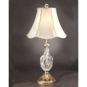 Dale Tiffany Vinciano Table Lamp with Antique Brass Finish