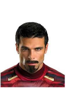 Tony Stark Facial Hair  Cheap TV & Movie Halloween Costume for