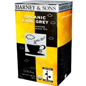 Organic Earl Grey, Scented Black Tea, 20 Tea Bags, 1.42 oz