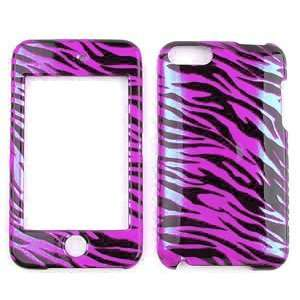 Pink Black 2D Design Hard Snap on Case Cell Phones & Accessories