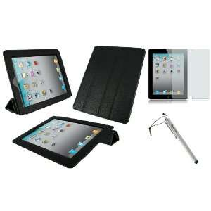 Cover / Anti Glare Screen Protector / Capacitive Stylus for Apple iPad