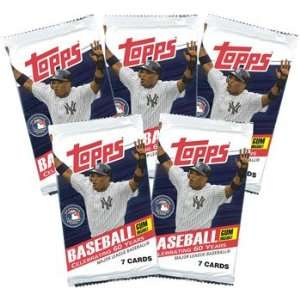 com Topps Trading Cards   Topps 2011 Baseball   5 Pack Lot ( 35 Cards