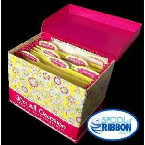 Card Assortment with Decorative Reusable Organizer Box Everything