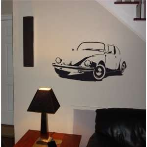 MURAL Vinyl Sticker Car VOLKSWAGEN CLASSIC OLD 014