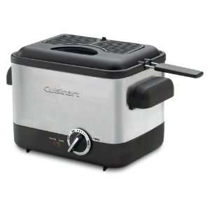Factory Refurbished Cuisinart CDF 100 Compact 1.1 Liter Deep Fryer