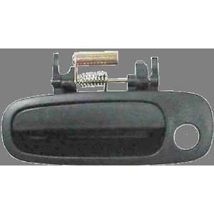 98 02 TOYOTA COROLLA OUTSIDE DOOR HANDLE FRONT LEFT BLACK