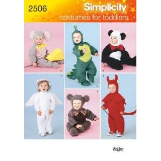 Simplicity Sewing Pattern 2304 Toddlers Costumes, A (1/2