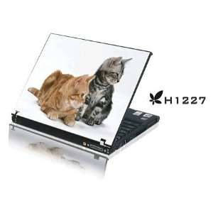 15.4 Laptop Notebook Skins Sticker Cover H1227 Kittens