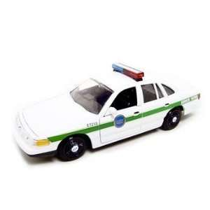 Crown Victoria Border patrol Car 1/24 Diecast Model