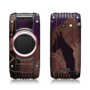 Equestrian Design Protective Skin Decal Sticker for Casio