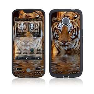 HTC Droid Eris Skin Decal Sticker   Fearless Tiger