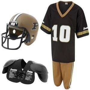 Boilermakers Youth NCAA Team Helmet and Uniform Set
