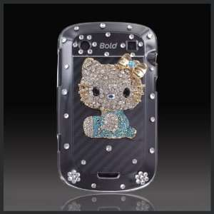 Blue Bling Jeweled Hello Kitty Luxury crystal case cover