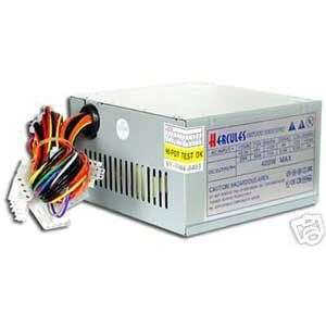Hercules 400W 20+4 pin ATX Power Supply Unit w/SATA