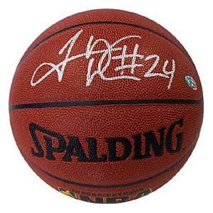Thomas Autographed/Signed Indoor Outdoor Chicago Bulls Basketball