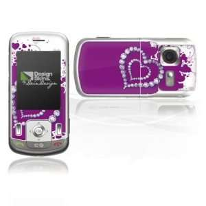 Design Skins for LG KC780   Diamond Heart Design Folie