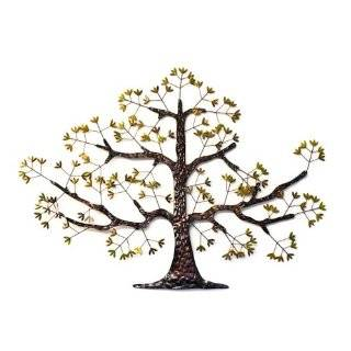 Large Oak Tree Metal Wall Art Abstract Sculpture New